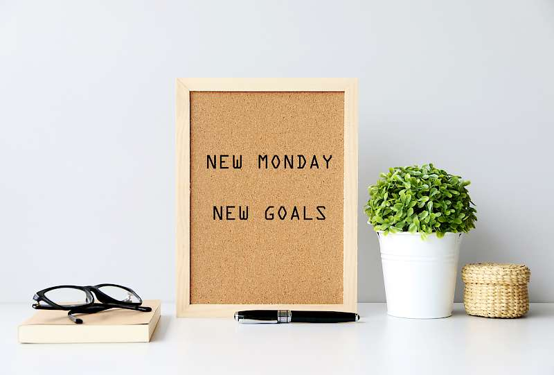 New Monday, New Goals, Professional CV Writing